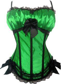 The Violet Vixen - Lucky Charms Burlesque Green-Black Corset, $49.99 (http://thevioletvixen.com/corsets/lucky-charms-burlesque-corset/) Lucky Green Charms Corset! Black Bows, Burlesque and Kiss me! I'm Drunk! I'm Irish! I'm Sexy! It's time to get lucky!