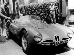 "1952 Alfa Romeo 1900 C52 Disco Volante Spider ""Fianchi Stretti"" (1359) (Carrozzeria Touring Superleggera)"