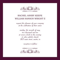 30+ Free Wedding Invitations Templates | Free wedding invitation ...