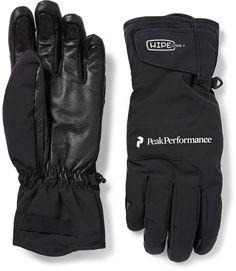 Peak Performance Chute Leather-Panelled Hipe® Core+ Gloves