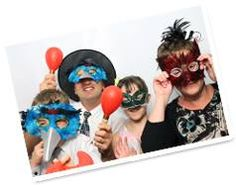 Lots of fun with our photo booth props! www.fundayevents.co.uk