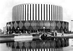 Mid-Century Modern Freak   Dresden Rundkino (Filmtheater opened 1972)...