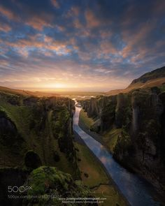 Fjaðrárgljúfur 1 by demiguel. Please Like http://fb.me/go4photos and Follow @go4fotos Thank You. :-)