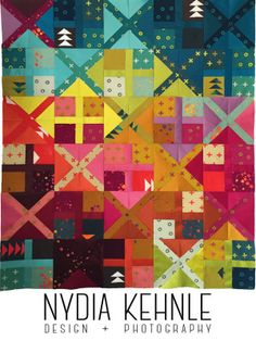 Quilts   Nydia Kehnle Alternative Quilt Pattern Using Alison Glass Handcrafted