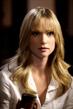 Hairstyle of AJ Cook from Criminal Minds
