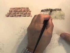 Watercolour Building Lesson - Stone Built Buildings - YouTube
