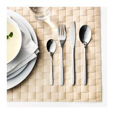 FÖRNUFT 24-piece cutlery set  - IKEA THB 449 (6 of each) (good steak knife)