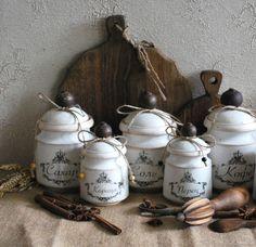 Купить Баночки для кухни в интернет магазине на Ярмарке Мастеров