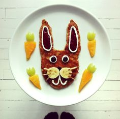 Conejo by Ida Frosk #foodart #funfood