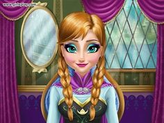 Anna Frozen Game for girls