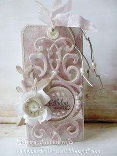 Gallery of handicrafts: Birthday card tags