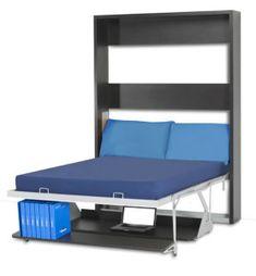 Italian Wall bed Desk – Vertical