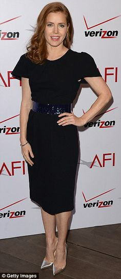 Amy Adams + dress