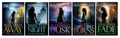 New covers for the Gardella Vampire Series