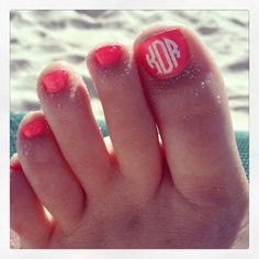 Hey, I found this really awesome Etsy listing at https://www.etsy.com/listing/244523164/toenail-monogram-decals