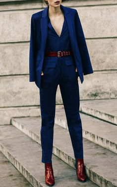 Get inspired and discover Sonia by Sonia Rykiel trunkshow! Shop the latest Sonia by Sonia Rykiel collection at Moda Operandi. Suit Fashion, Look Fashion, Fashion Show, Autumn Fashion, Fashion Trends, Dress Fashion, Womens Fashion, Sonia Rykiel, Business Outfit Damen