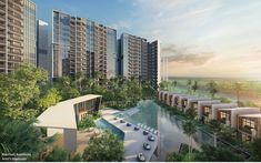 Riverfront Residences (Former Rio Casa), a 1472 units condo located at Hougang Avenue and just away to CHIJ Our Lady of the Nativity Singapore Country, Rio Vista, New Condo, Site Plans, Over The River, New Launch, New Property, Green Landscape, Condos For Sale