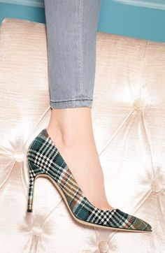 Yes. Manolos can make me lust if they are plaid.