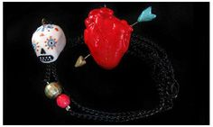 Creepily Charming Accessories - Kika Mishto's Winter 2012 Line is Endearingly Eery (GALLERY)