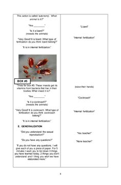 Lesson Objectives At the end of the one hour period, the Grade 5 learners should be able to: identify the methods of sexual reproduction in animals; Science Lesson Plans, Science Experiments Kids, Science Lessons, English Lesson Plans, English Lessons, Asexual Reproduction In Animals, Lesson Plan Sample, Play The Video, What Type