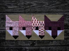 Quilty Like a Fox - Fancy Fox blocks