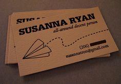 All-around decent business card