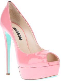 RUTHIE DAVIS - Peep toe rosa