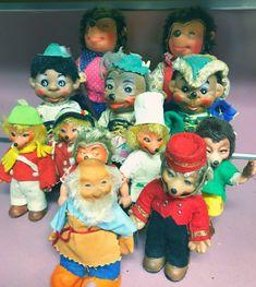 Vintage Hedgehog Toys Lot German Peter Handarbeit Mecki Steiff Rare | eBay
