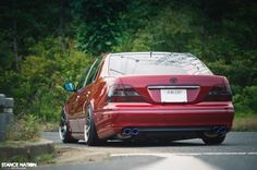 Did the owner of this really just put a set of Volk on a big bodied VIP sedan? H Slammed Cars, Lexus Gs300, Lexus Ls, Japan Cars, Car Makes, Stance Nation, Love Car, Modified Cars, Amazing Cars