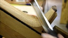 Guitar Neck Carving