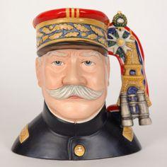 Marshal Joffre Royal Doulton Character Jug/Toby Mug http://www.rubylane.com/shop/thegryphonsnest/ilist/,cs=Pottery:By+Maker:Royal+Doulton.html