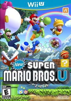 New Super Mario Bros. U is a new, side-scrolling adventure featuring Mario, Luigi, Toad ... and your Mii character! Now's your chance to step inside the Mushroom Kingdom and explore new worlds, new power-ups and new ways to play.