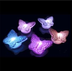 Find More LED Night Lights Information about Free Shipping Wholesale Car Decoration Gift Beautiful Butterfly Night Light For Children,High Quality decorative deck lighting,China decorative solar string lights Suppliers, Cheap light purple bridesmaid dresses from Michelle's Showcase on Aliexpress.com
