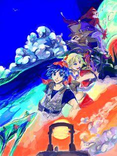 Chrono Cross, Chrono Trigger, The Dreamers, Pixiv, Illustration, Anime, Fictional Characters, Games, Cartoon Movies