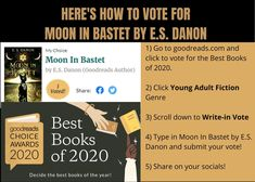 Please vote for Moon In Bastet in the young adult fiction category. One Last Chance, Verses About Love, Slam Poetry, Young Adult Fiction, Fiction Books, Book Publishing, Good Books, Novels, It Cast