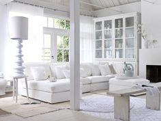 Decoración Retro: Blanco...sinónimo de pureza y pulcritud