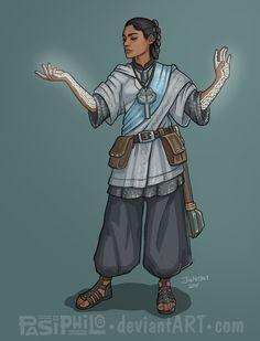 Ellora Sera - Human Cleric by Pasiphilo on DeviantArt