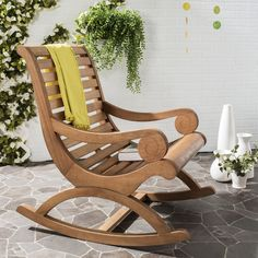 46 Outdoor Rocking Chairs Project Ideas - Want to recapture a bit of the old country past? Get yourself a rocking chair, get on your porch and start rocking. They are an extremely relaxing way. Reclining Rocking Chair, Best Outdoor Furniture, Cheap Furniture, Modern Furniture, Wood Patio Furniture, Amish Furniture, Furniture Dolly, Furniture Stores, Industrial Furniture