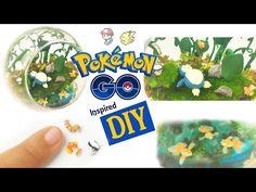 DIY POKEMON GO MINI ENVIRONMENT Resin & Polymer Clay Tutorial - YouTube