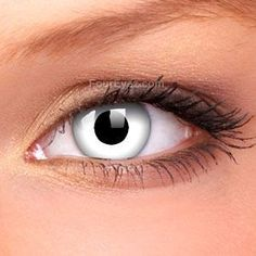 Sclera-lenses, a leading online store to buy Negative Sclera Contact Lenses pair) at best prices. Disposable Contact Lenses, Cosmetic Contact Lenses, Costume Contact Lenses, White Contact Lenses, Special Effects Makeup Artist, Change Your Eye Color, Colored Eye Contacts, Cosplay Contacts, Halloween Stuff