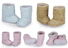 1Pair Baby Boy Girl Infant Toddler Winter Fur Shoes Snow Anti-slip Boots 6-24Mon #Handmade #Boots