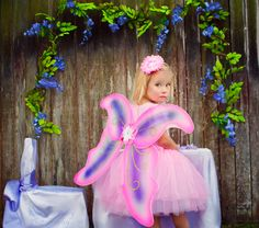 Lavendar Pixie Party Kit for 8 complete with costumes and table settings.  http://www.hensandchicksparties.com