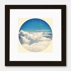 """""""Take care of this, it's yours"""" Framed Print by Jason Morrelle £27.52"""