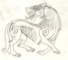 celtic wolf - Buscar con Google