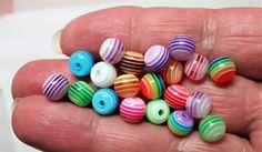 BF-180 $1.50 Mixed Acrylic Beads