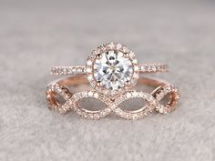 Dream Engagement Rings, Rose Gold Engagement Ring, Engagement Ring Settings, Diamond Wedding Rings, Bridal Rings, Wedding Engagement, Moissanite Bridal Sets, Bridesmaid Jewelry Sets, Or Rose