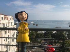 Coraline at Cannes Coraline And Wybie, Coraline Movie, Coraline Jones, Tim Burton, Vaporwave, Coraline Aesthetic, Corpse Bride, Aesthetic Indie, Toys Photography