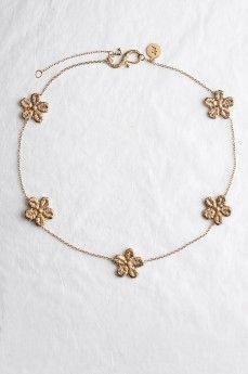 DAISY by MyKi necklace, gold Колье DAISY by MyKi, золото