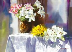 Flor. Yang Hui Won. Discussão sobre LiveInternet - Serviço russo diários on-line