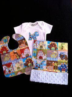 Baby boy Dinosaur gift set 3 pc.